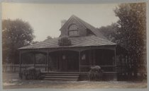 Image of S.I. Cricket Club. Ladies Club House, photo by Isaac Almstaedt, ca. 1886