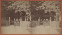 Image of Entrance to Birmingham Estate, photo by Isaac Almstaedt, ca. 1880-1885