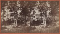 Image of Cottage on Birmingham Estate, photo by Isaac Almstaedt, ca. 1880-1885