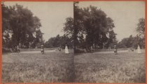 Image of Lawn tennis, Birmingham Estate, photo by Isaac Almstaedt, ca. 1880-1885