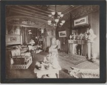 Image of [Eckstein Norton house, parlor] - Print, Photographic