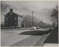 Image of Center Street at Court Place, photo by Michael Koledo, 1963