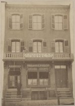 Image of F. Diederick's Hotel, ca. 1880-1890