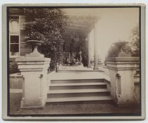 Image of Piazza of the Louis H. Meyer house, ca. 1880-1890