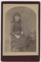 Image of Portrait of Eliza Hilah Lake, photo by John E. Lake, ca. 1886