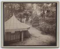 Image of [Louis H. Meyer estate, doghouse] - Print, Photographic