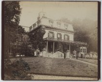 Image of [Louis H. Meyer estate, east front] - Print, Photographic