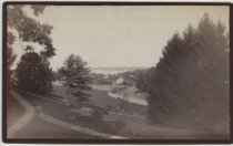 Image of View from northeast bedroom window, Louis H. Meyer estate, ca. 1880-1890