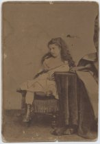 Image of Portrait of Maud Morgan as a child, ca. 1870