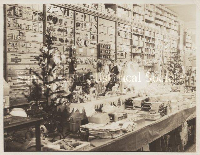 Brower's Hardware Store - Print, Photographic