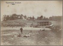 Image of Thompson's Stadium, photo by George Bear, 1895