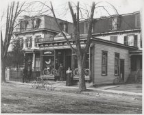 Image of [Saunders bicycle shop] - Print, Photographic