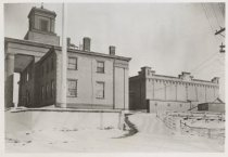Image of Third County Courthouse and Richmond County Jail, ca. 1900