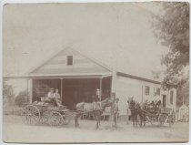 Image of H.S. Brower hardware store, Instantaneous Photo View Co.,  ca. 1890-1910