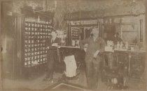 Image of Barber shop on Richmond Avenue, Empire Photo View Co., 1904