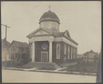 Image of Temple Emanu-El, photo by Charles M. Steinrock, ca. 1908