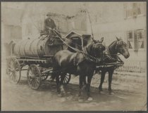 Image of Sprinkling wagon, ca. 1910
