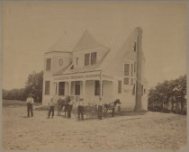 Image of House at Ross Avenue and 8th Street, photo by Alexander & Tolman, c. 1899