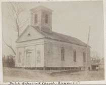 Image of Dutch Reformed Church, photo attributed to Ira K. Morris, ca. 1900-1903