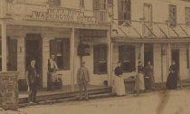 Image of detail, Washington Hotel, ca. 1890