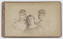 Image of Alice Austen, Julia Bredt, and Trude Eccleston, photo by I. Almstaedt, 1892