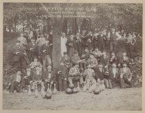 Image of Stapleton Bowling Club, photo by George Bear, 1895
