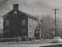 Image of detail, Stephens-Black House, photo by Michael Koledo, 1963