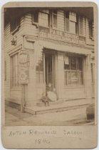 Image of Anton Reinhold's Saloon, 1890