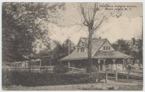Image of New Dorp Railroad Station, photo by William J. Grimshaw, ca. 1907-1925
