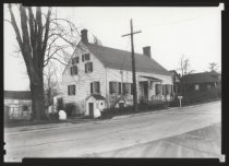 Image of Boehm House on its original site, ca. 1945