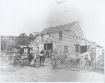 Image of Hooper Blacksmith Shop (copy print), ca. 1890