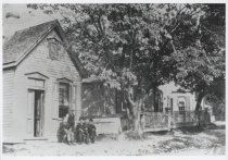 Image of Richmond County Mutual Insurance Company office, ca. 1900