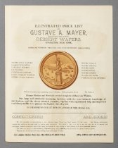 Image of Gustav A. Mayer Records - Illustrated Price List of Gustave A. Mayer
