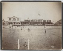 Image of [Sea Side Bathing Pavilion] - Print, Photographic