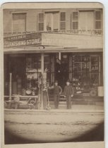Image of George Meurer furnishing store, 1888