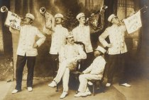 Image of Band White and Gold, photo by Underwood, ca. 1903-1910  (detail)