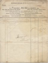Image of McWilliams Family Papers - McWilliams Family Papers