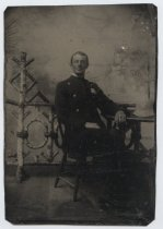 Image of [Portrait of Seymour Lyvere] - Tintype
