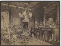 Image of Parlor at Erastus Wiman home, ca. 1885