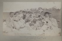 Image of Amicitia outing July 16th 1891 at Woods of Arden S.I.
