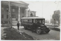 Image of Richmond S.I. N.Y. Trackless Trolley - Negative, Film