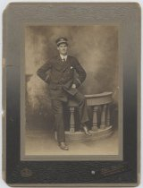 Image of [Portrait of a lighthouse keeper] - Print, Photographic