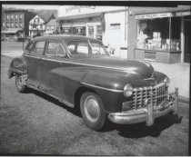 Image of [Automobile at Broad and Canal Streets] - Negative, Film