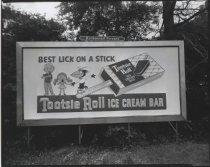 Image of [Billboard, Tootsie Roll Ice Cream Bar] - Negative, Film