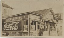 Image of Decker's Pharmacy, ca. 1918