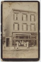 Image of [George Beinert meat market] - Print, Photographic