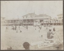 Image of Walch's Bathing Pavilion, photo by George Bear, ca. 1900-1910