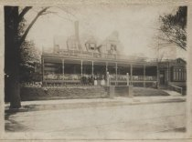 Image of Hugot's Cafe, St. George, 1903