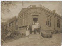 Image of Hugot's Cafe, St. George,  ca. 1900