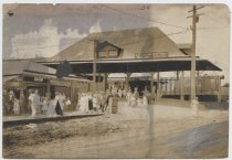 Image of [Staten Island Rapid Transit railway station, South Beach] - Print, Photographic